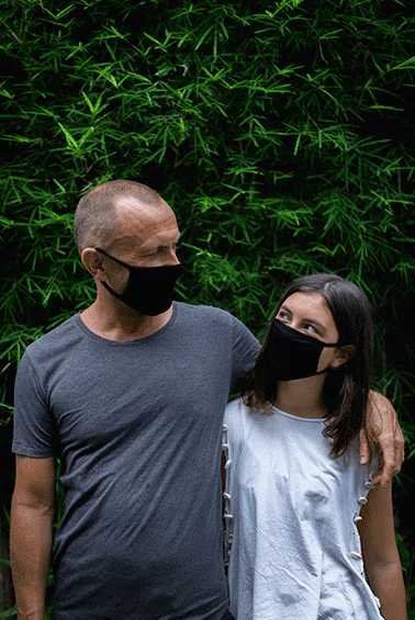 Bamboo face masks