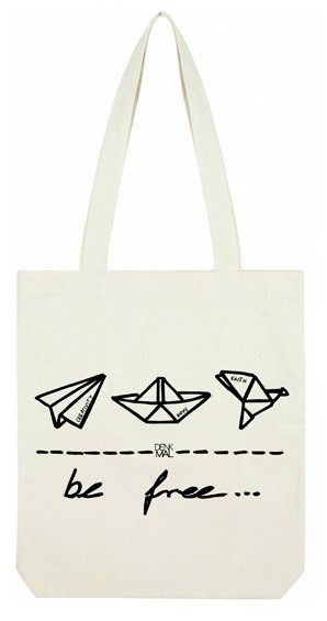 Be Free sustainable tote bag