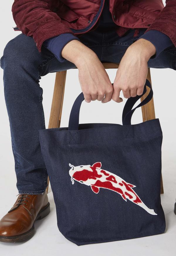 Kings of Indigo - Sustainable denim tote bag