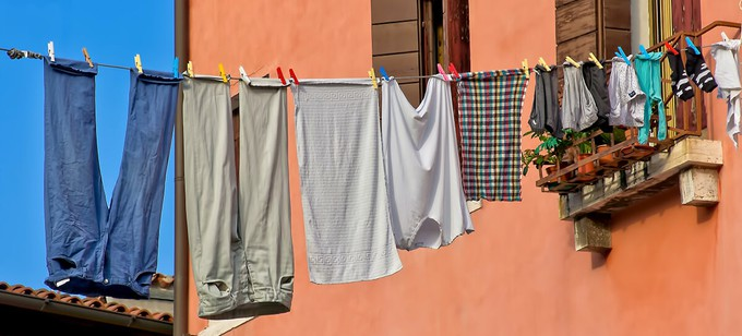 Let your clothes dry naturally