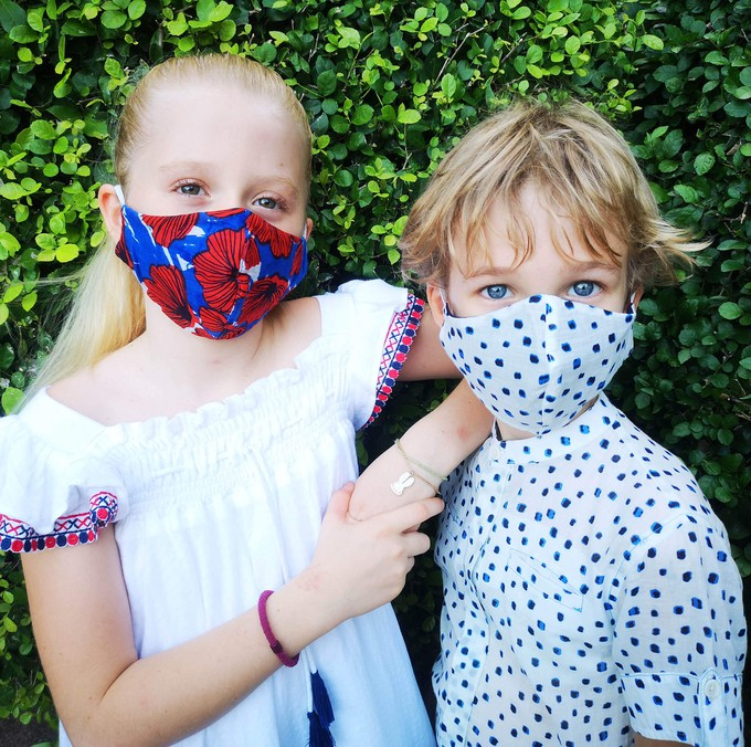 Lexi's reusable face masks for children