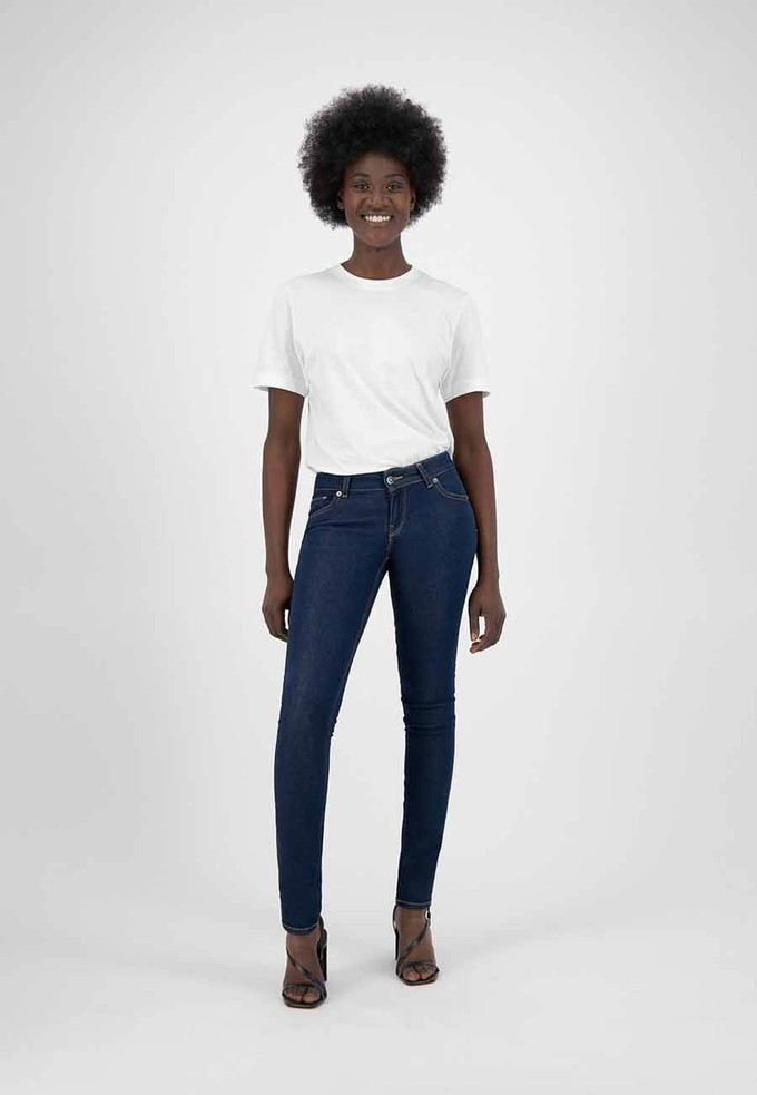 Skinny Lilli Strong Blue ethical jeans by Mud
