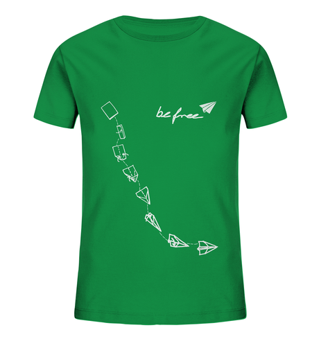 "be free  - Unisex Kids Shirt ""green"" from be free"