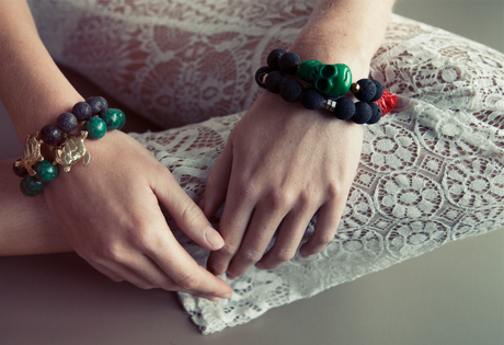 Volcanic Green Bracelet from FerWay Designs