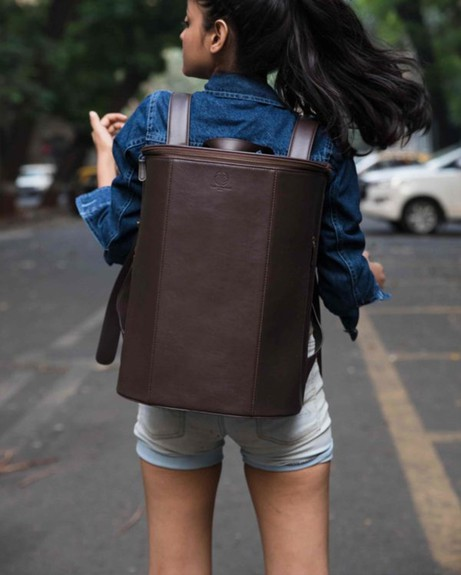 Cyle Brown Backpack from Funky Kalakar