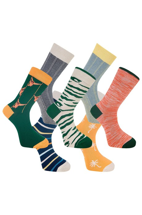 LUCKY DIP - GOTS  Organic Cotton Sock Bundle (7 Pairs) from KOMODO