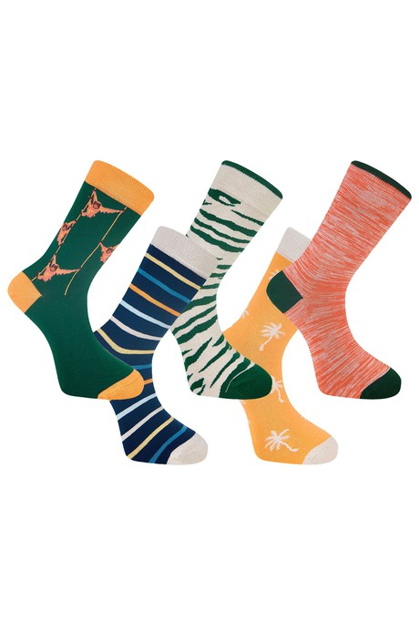 LUCKY DIP - GOTS Organic Cotton Sock Bundle (5 Pairs) from KOMODO
