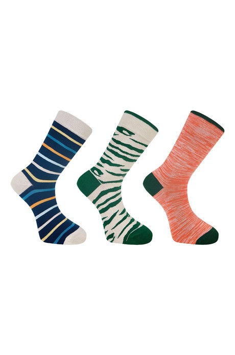 LUCKY DIP - GOTS Organic Cotton Sock Bundle (3 Pairs) from KOMODO