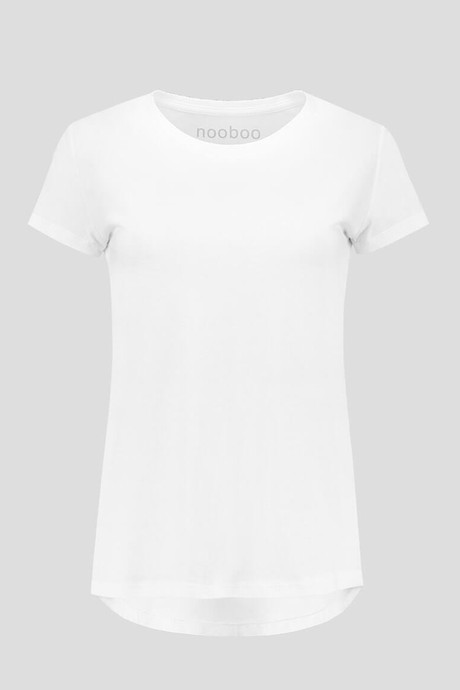 3302 BL - Luxe Bamboo Crew Neck T-Shirt Women - 185 g from Nooboo