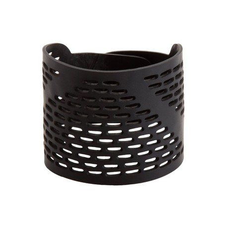 Coding Recycled Rubber Bracelet from Paguro Upcycle