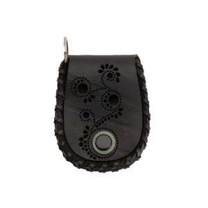 Acyuta Recycled Rubber Coin Vegan Purse from Paguro Upcycle