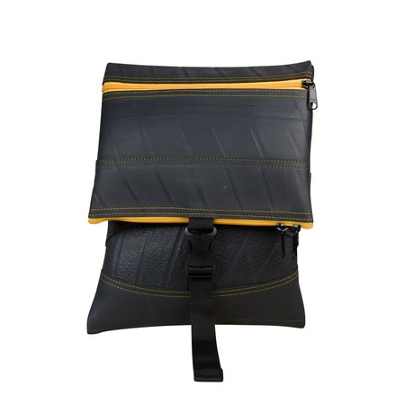 Jen Foldover Recycled Rubber Vegan Crossbody Bag (6 Colours Available) from Paguro Upcycle