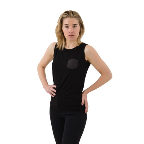 The Timeless Sleeveless – Black from Royal Bamboo