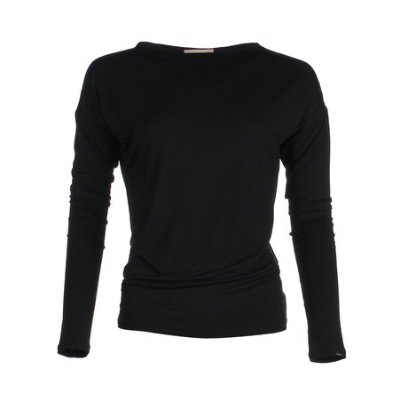 The Vintage Longsleeve – Black from Royal Bamboo