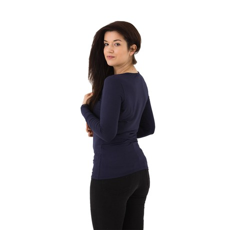 The Original Longsleeve – Navy from Royal Bamboo