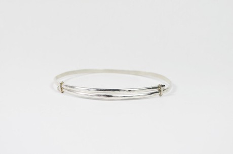 Solid Bracelet Unisex - Silver from Solitude the Label