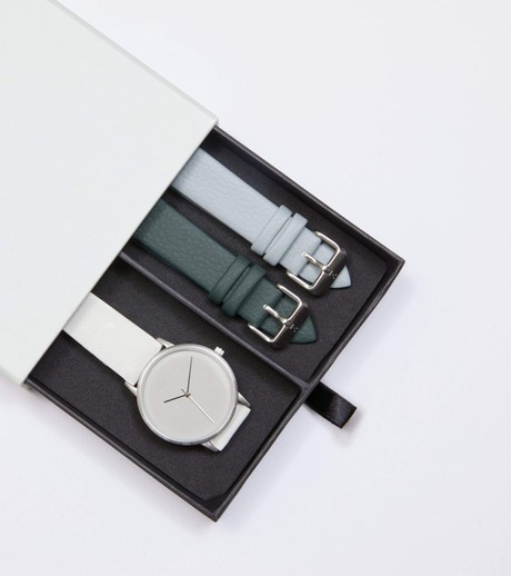 Silver & Off White with Grey | Lyka Gift Set from Votch