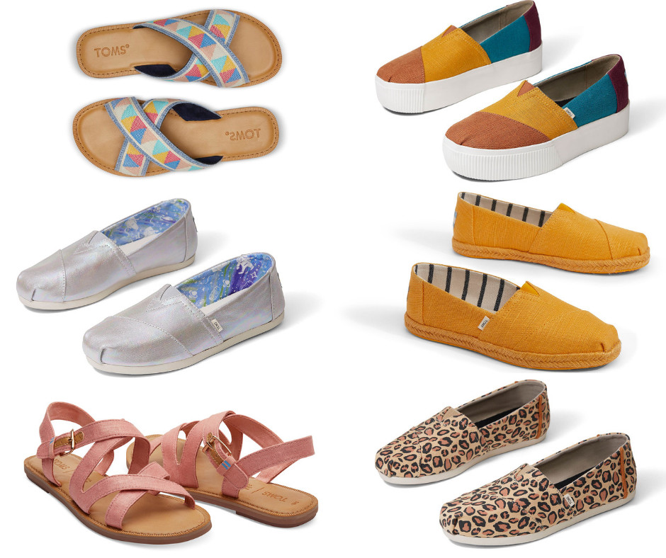 TOMS vegan shoe collection