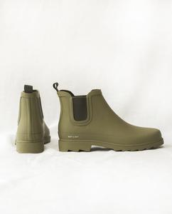 BROOKE Welly Boots In Olive from Beaumont Organic