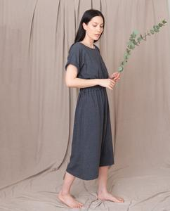 MARISSA Organic Cotton Dress In Grey Marl from Beaumont Organic