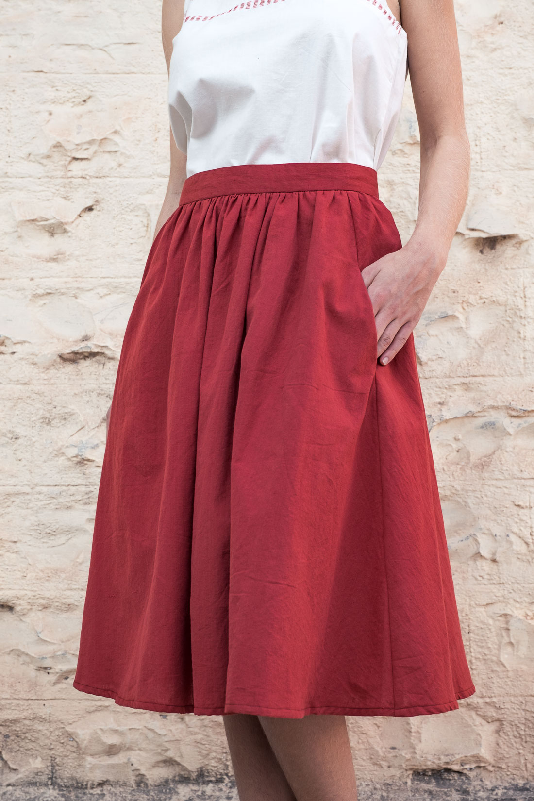 Skirt Rashmi  Ruby from Jyoti - Fair Works