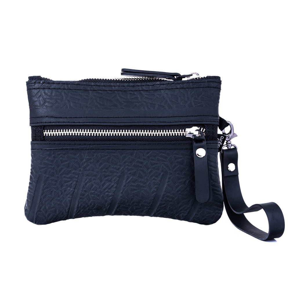 Erin Vegan Wristlet and Belt Pouch from Paguro Upcycle