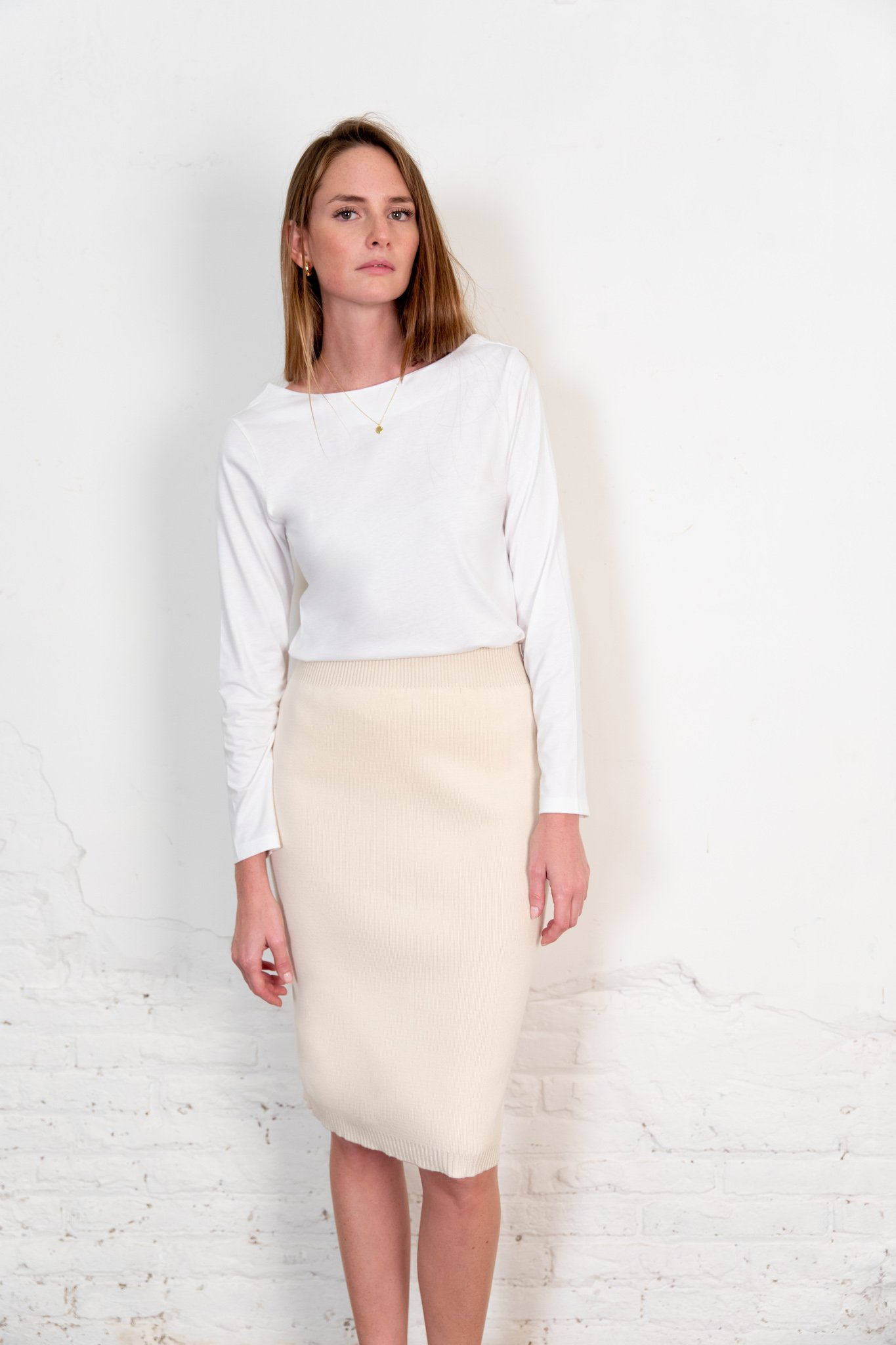 Blucu blouse white from The Nordic Leaves