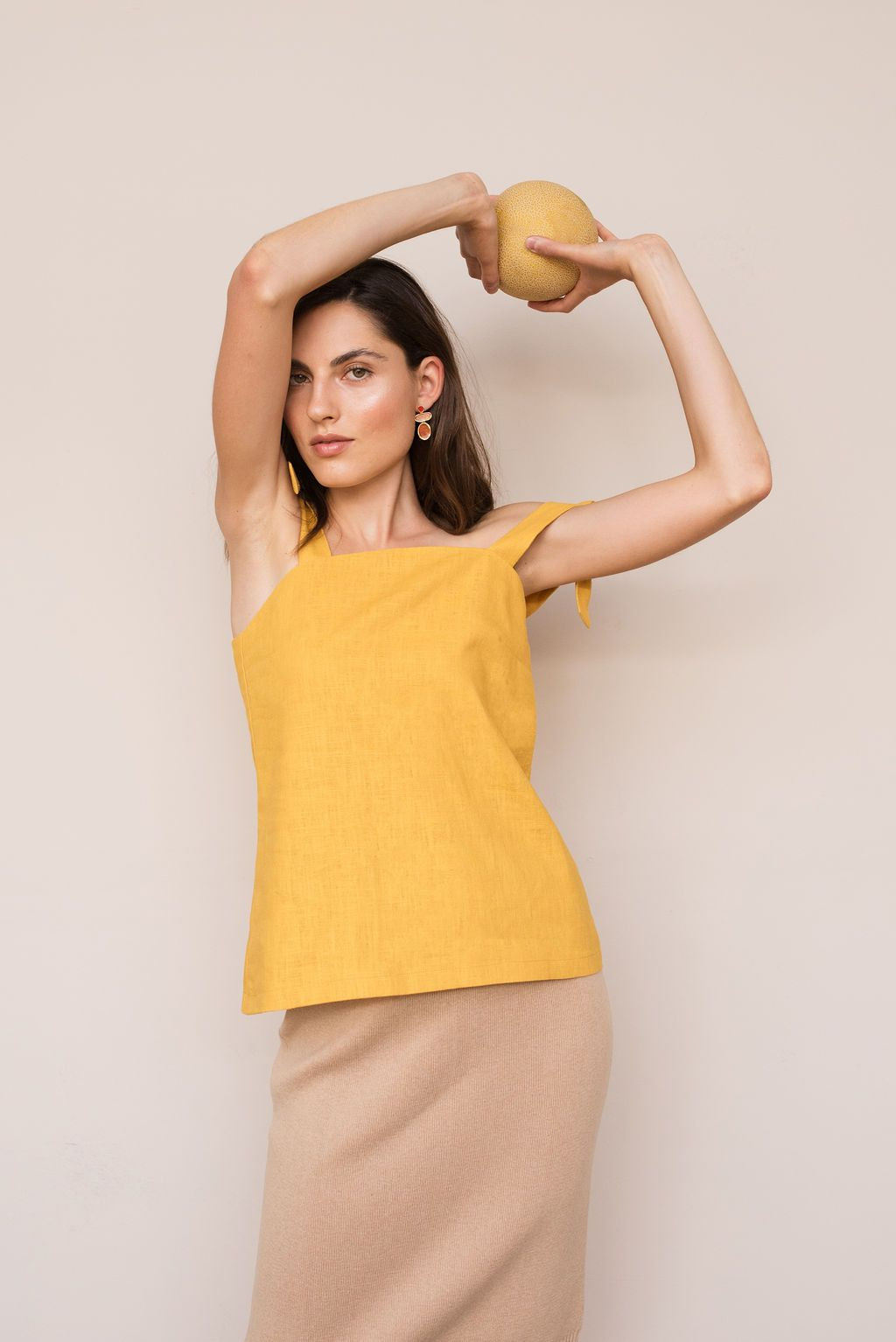 Curline Top from The Nordic Leaves