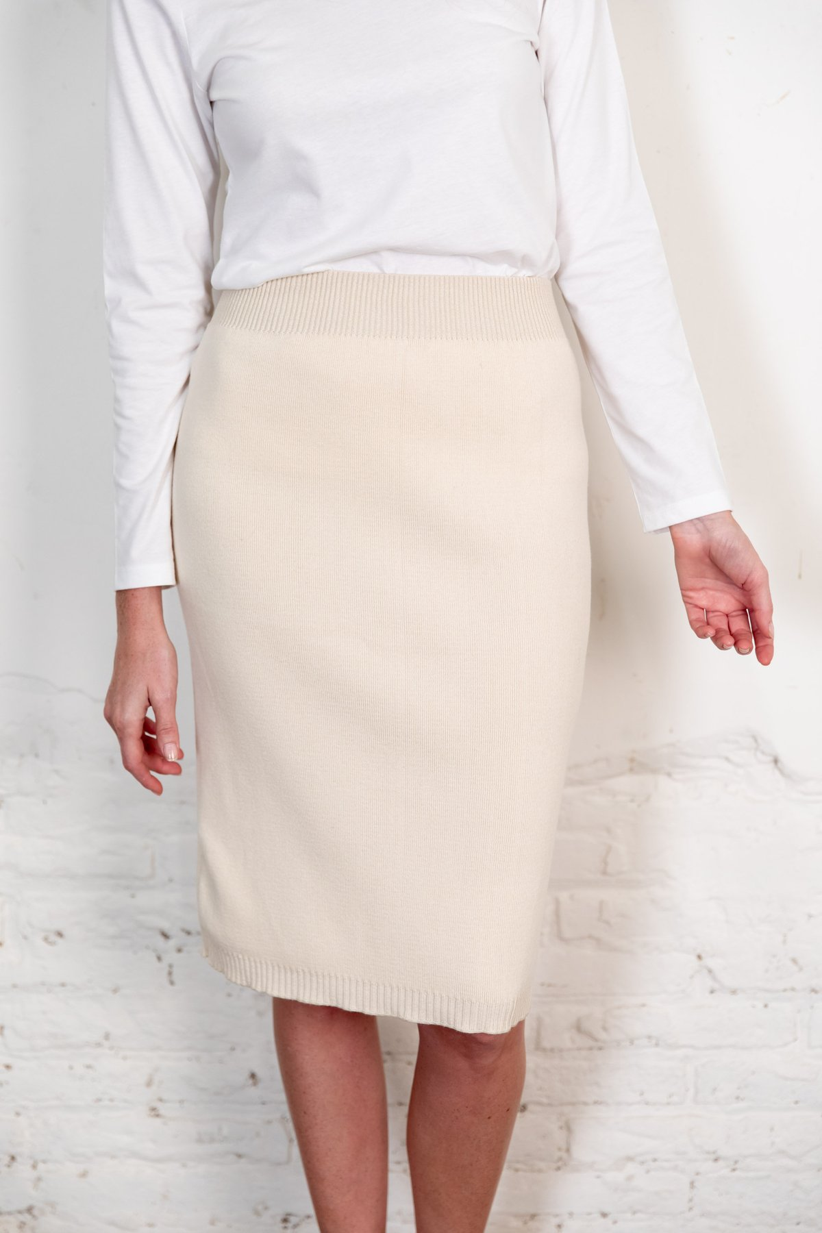 Fapun skirt natural from The Nordic Leaves