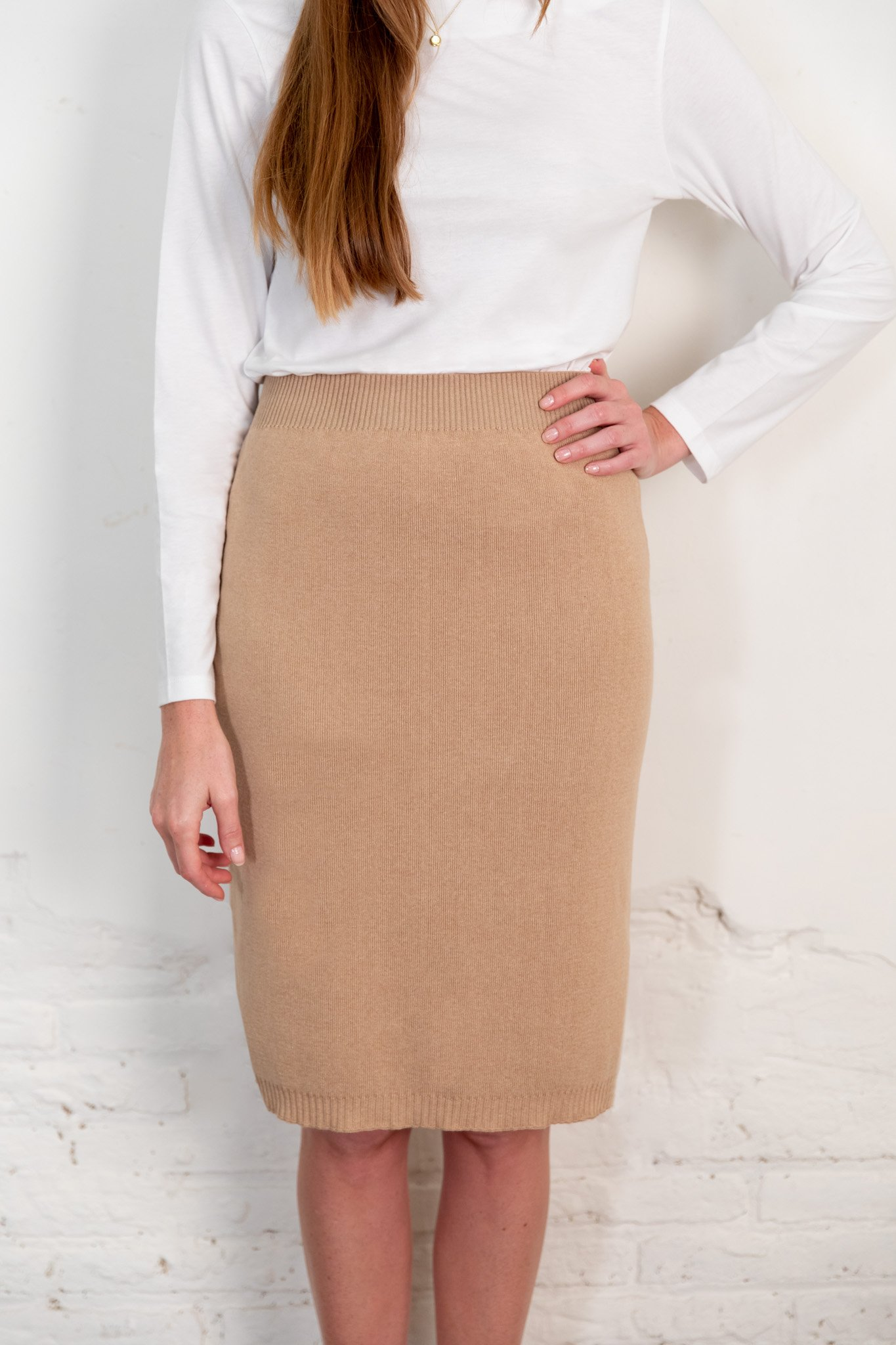 Fapun skirt brown from The Nordic Leaves