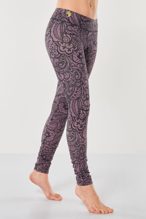 Yoga Leggings Bhaktified Anjali – Jungle Orchid from Urban Goddess