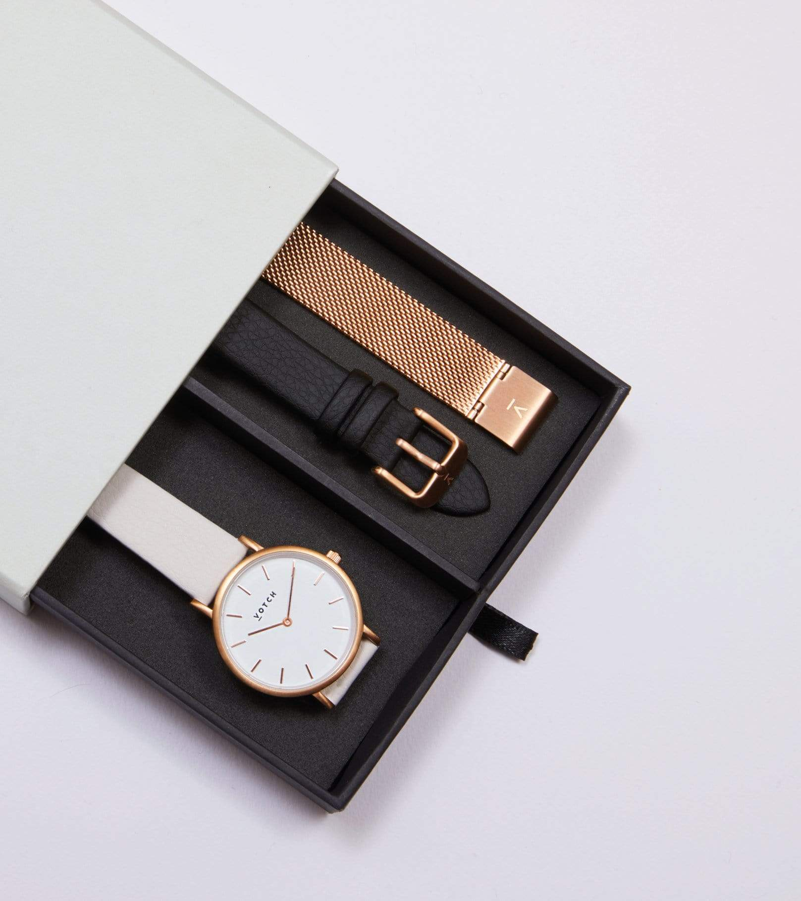 Rose Gold & Light Grey | Classic Petite Gift Set from Votch