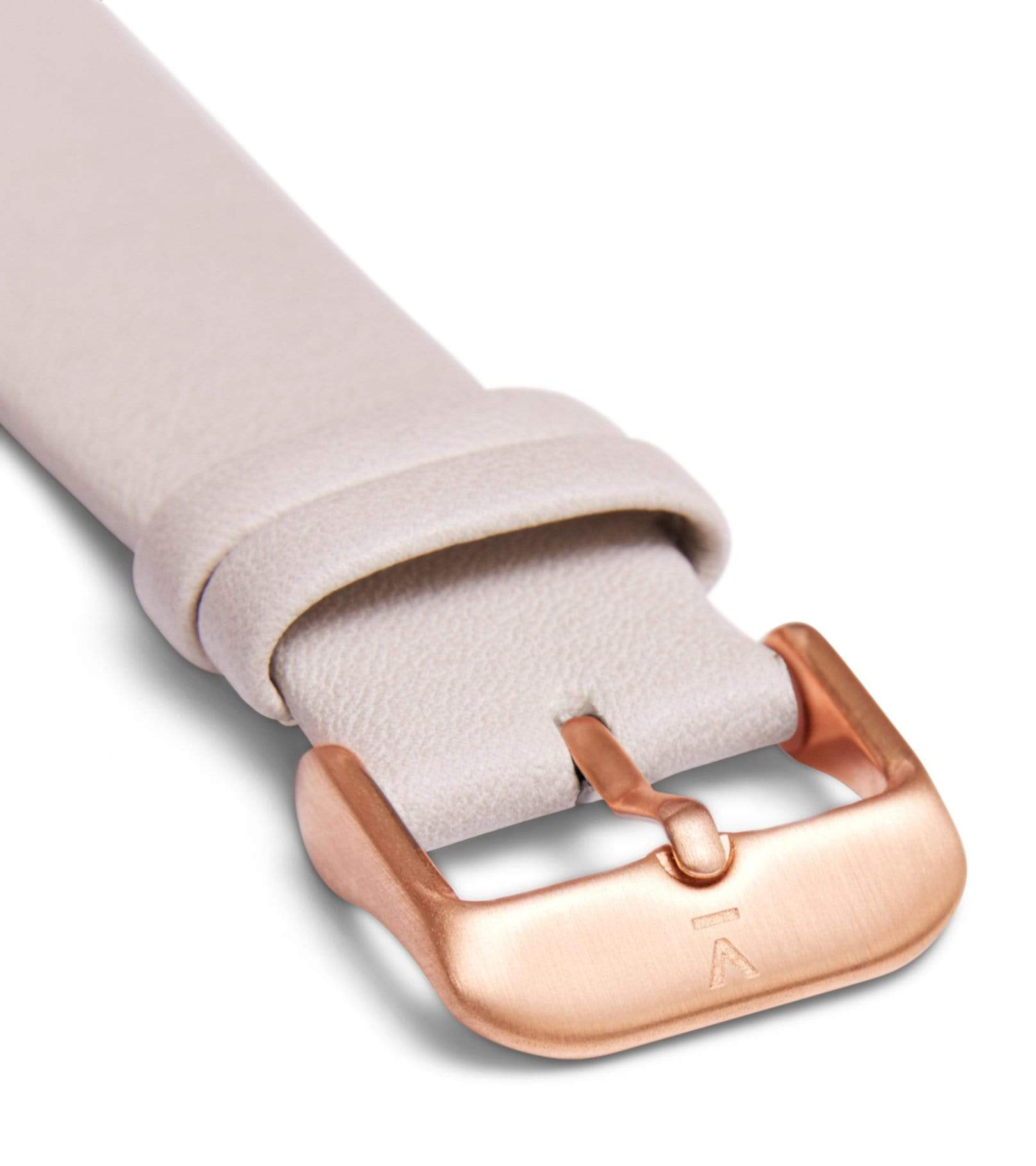 Light grey with brushed rose gold buckle | 20mm from Votch