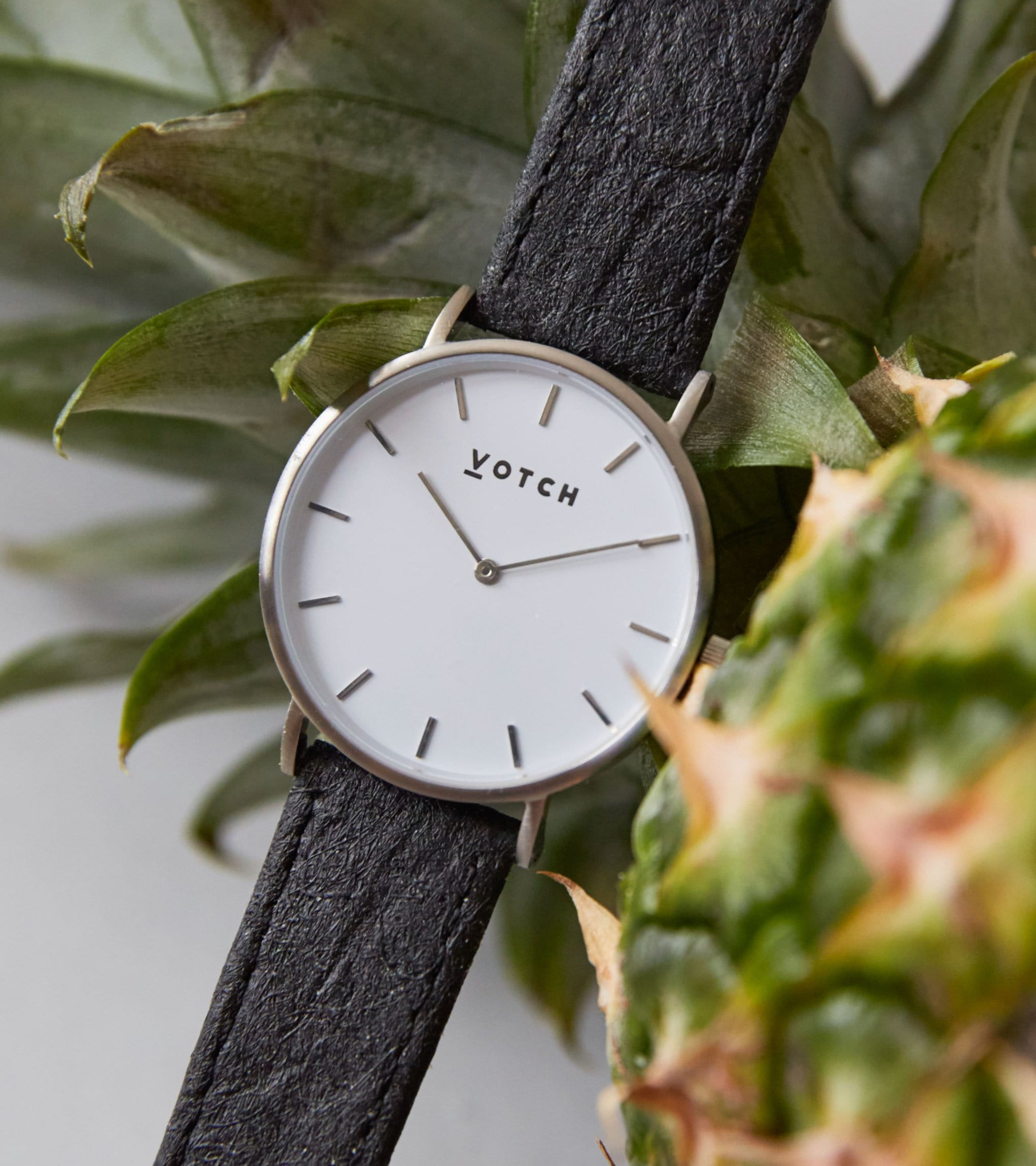 Silver & Piñatex | Classic from Votch
